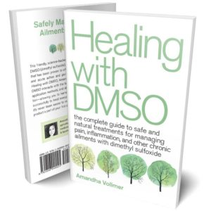 Healing with DMSO Book Cover - Front and Back